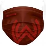 Gesichtsmaske im SVWW-Design