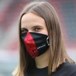 Maskenaufsatz Heimtrikot Upcycling